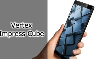 Смартфон VERTEX Impress Cube — характеристики, плюсы и минусы