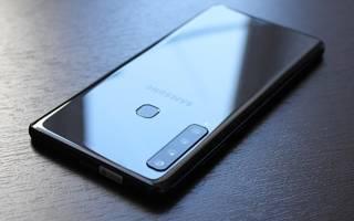 Samsung Galaxy A9, обзор модели 2018 года,достоинства и недостатки