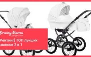 Топ лучших детских колясок 2 в 1 на 2020 год, Люлька, Прогулочный блок
