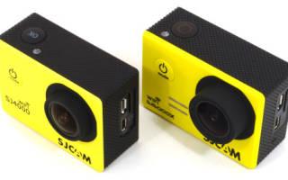 Обзор лучших экшн-камер SJCAM: характеристики, плюсы и минусы
