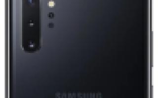 Смартфон Samsung Galaxy Note 10+: достоинства и недостатки, харакеристики и стоимость