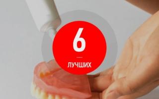 Рейтинг лучших кремов для фиксации зубных протезов
