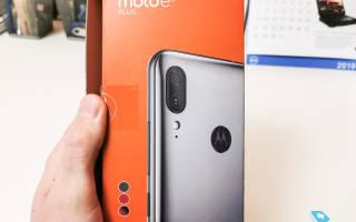 Новый бюджетный смартфон от Motorola — Moto E6 Plus