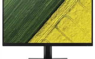 Монитор Acer ET271bi – подробные характеристики, отзывы, плюсы и минусы