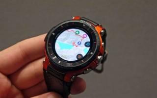 Защищенные смарт-часы Casio Pro Trek WSD-F30, характеристики, плюсы и минусы