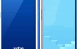 Обзор Oppo Realme C1 с плюсами и минусами