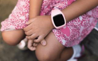 Лучшие умные часы для детей 2020