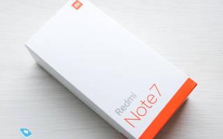 Обзор и характеристики смартфона Смартфона Xiaomi Redmi Note 7 Pro