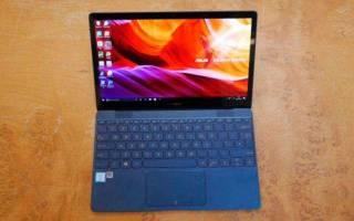 Обзор ноутбука ASUS ZenBook 3 UX390UA — плюсы и минусы