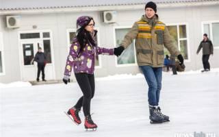 Рейтинг лучших мест для катания на коньках в Красноярске.