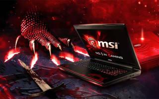 TOP 10 лучших ноутбуков MSI в 2019 году