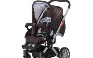 Детская коляска Hartan VIP XL 2 в 1 — подробные характеристики, отзывы, плюсы и минусы