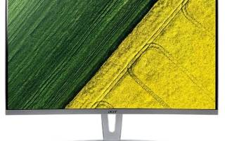 Монитор Acer ED273Awidpx – подробные характеристики, отзывы, плюсы и минусы